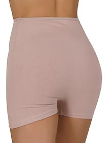 Short Cintura Alta em Cotton