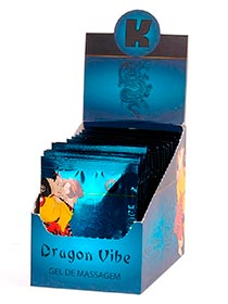 Gel Dragon Vibe Caixa com 25