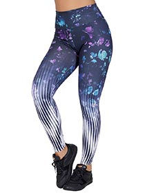 Calça Legging Sublimada Flowers
